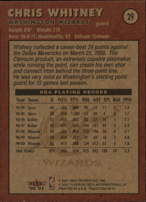 2000-01-Fleer-Basketball-Cards-Pick-From-List thumbnail 49