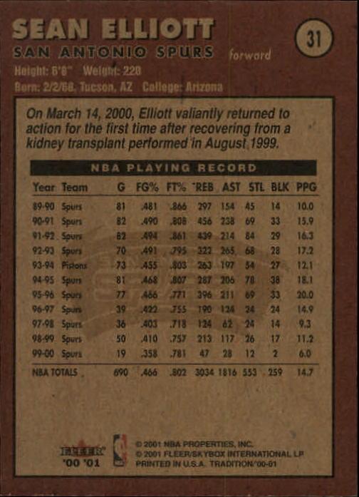 2000-01-Fleer-Basketball-Cards-Pick-From-List thumbnail 53