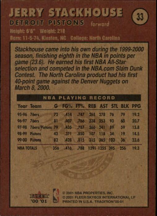 2000-01-Fleer-Basketball-Cards-Pick-From-List thumbnail 57