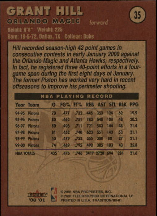 2000-01-Fleer-Basketball-Cards-Pick-From-List thumbnail 61