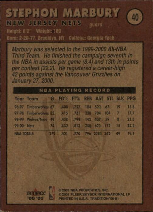 2000-01-Fleer-Basketball-Cards-Pick-From-List thumbnail 67