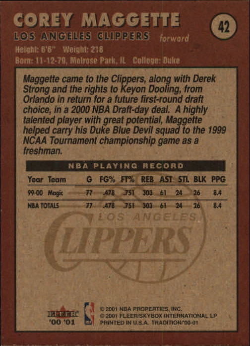 2000-01-Fleer-Basketball-Cards-Pick-From-List thumbnail 69