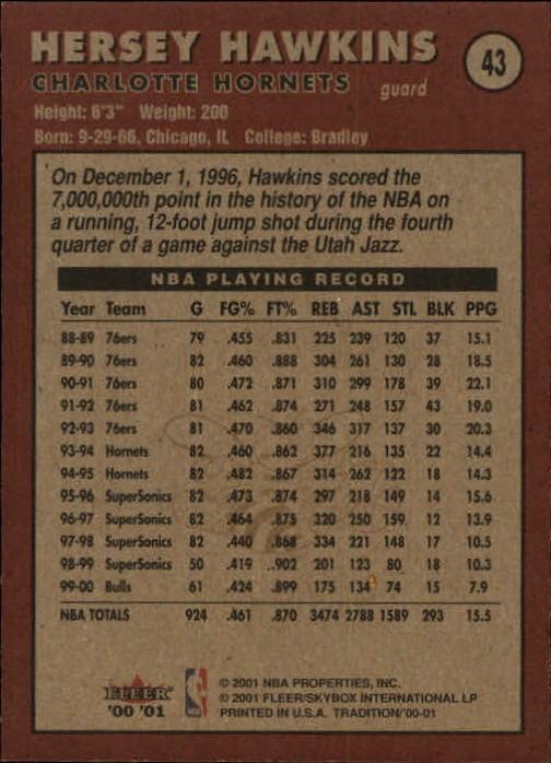 2000-01-Fleer-Basketball-Cards-Pick-From-List thumbnail 71