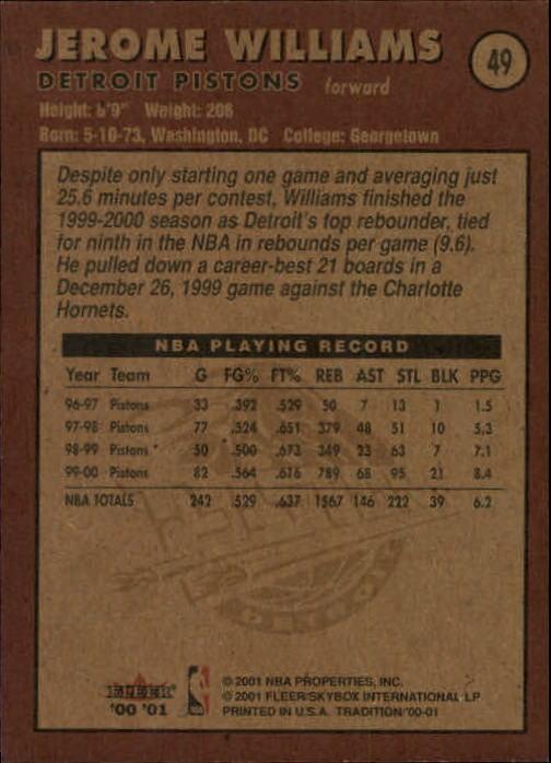 2000-01-Fleer-Basketball-Cards-Pick-From-List thumbnail 77
