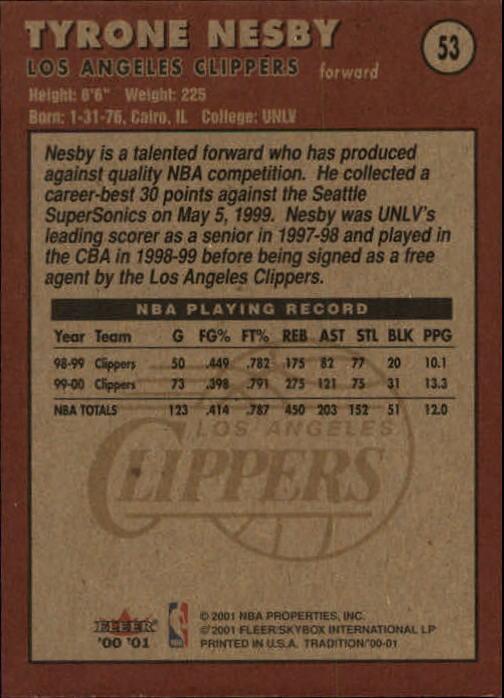 2000-01-Fleer-Basketball-Cards-Pick-From-List thumbnail 83