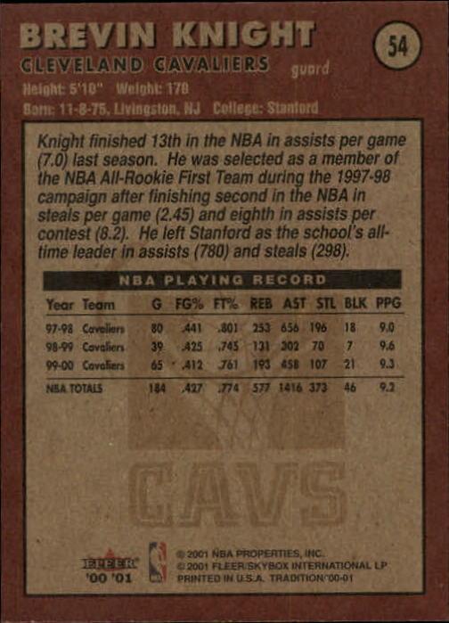 2000-01-Fleer-Basketball-Cards-Pick-From-List thumbnail 85