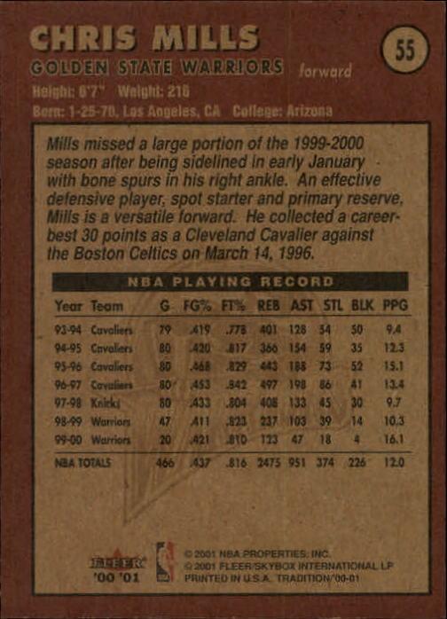 2000-01-Fleer-Basketball-Cards-Pick-From-List thumbnail 87
