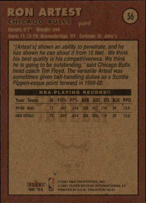 2000-01-Fleer-Basketball-Cards-Pick-From-List thumbnail 89