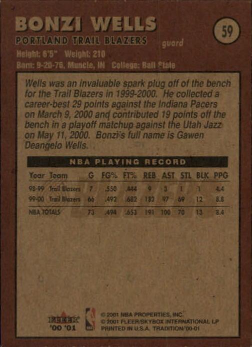 2000-01-Fleer-Basketball-Cards-Pick-From-List thumbnail 93