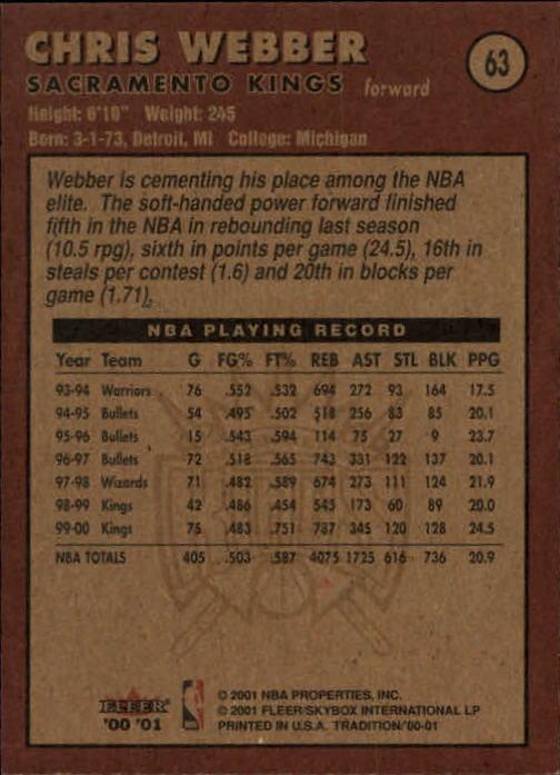 2000-01-Fleer-Basketball-Cards-Pick-From-List thumbnail 99