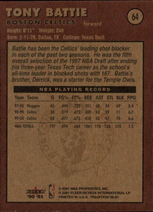 2000-01-Fleer-Basketball-Cards-Pick-From-List thumbnail 101