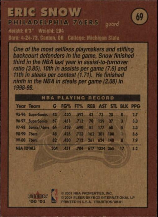 2000-01-Fleer-Basketball-Cards-Pick-From-List thumbnail 105