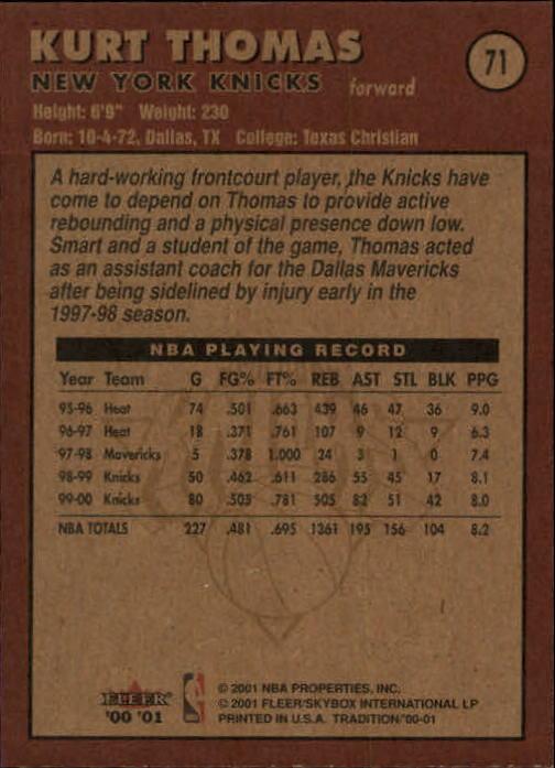 2000-01-Fleer-Basketball-Cards-Pick-From-List thumbnail 109