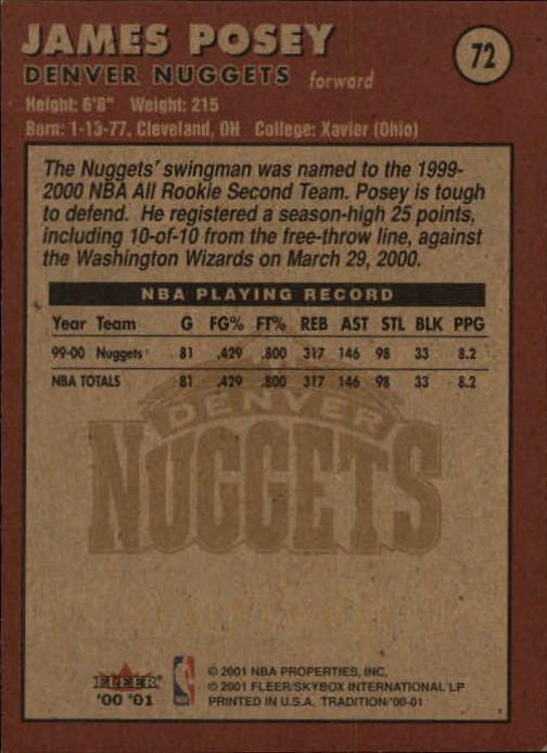 2000-01-Fleer-Basketball-Cards-Pick-From-List thumbnail 111