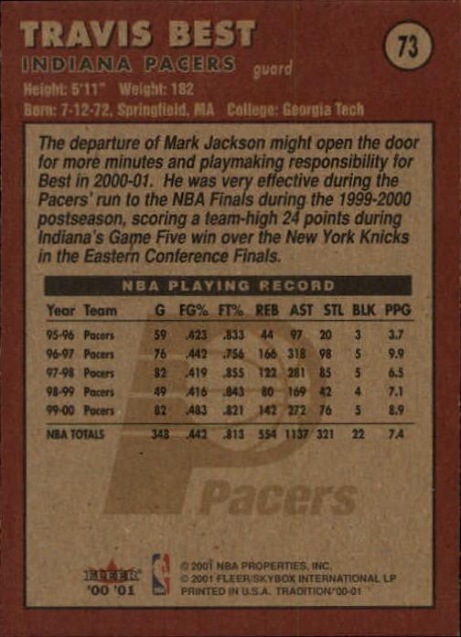 2000-01-Fleer-Basketball-Cards-Pick-From-List thumbnail 113