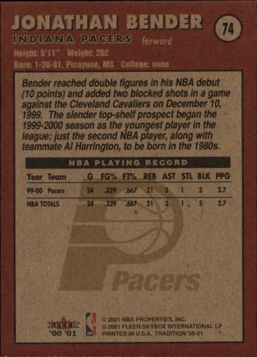 2000-01-Fleer-Basketball-Cards-Pick-From-List thumbnail 115