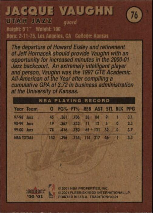 2000-01-Fleer-Basketball-Cards-Pick-From-List thumbnail 119