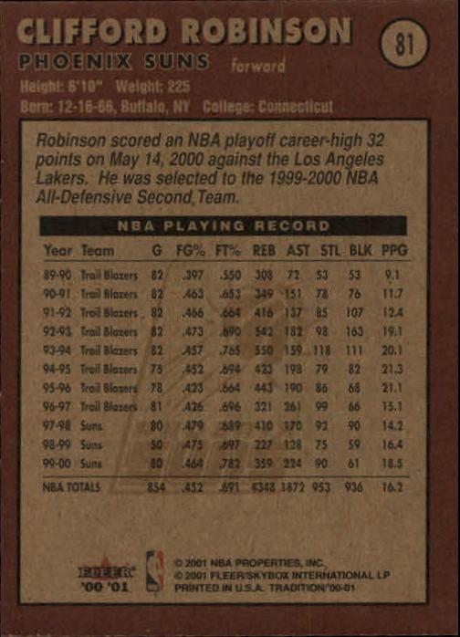 2000-01-Fleer-Basketball-Cards-Pick-From-List thumbnail 129