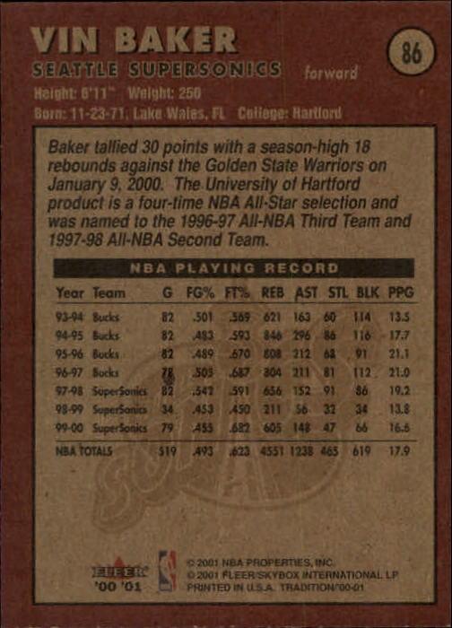 2000-01-Fleer-Basketball-Cards-Pick-From-List thumbnail 135