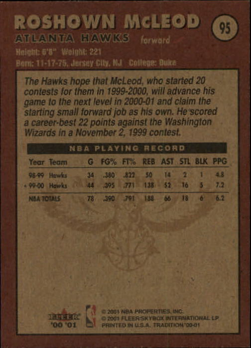 2000-01-Fleer-Basketball-Cards-Pick-From-List thumbnail 153
