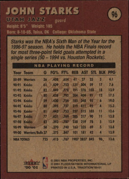 2000-01-Fleer-Basketball-Cards-Pick-From-List thumbnail 155