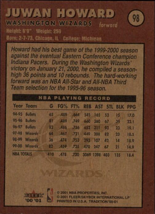 2000-01-Fleer-Basketball-Cards-Pick-From-List thumbnail 159