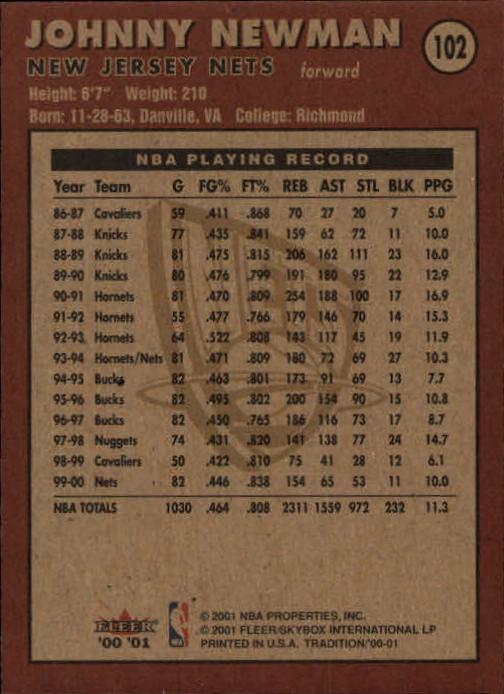 2000-01-Fleer-Basketball-Cards-Pick-From-List thumbnail 165