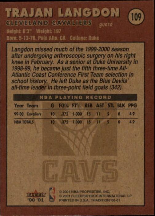 2000-01-Fleer-Basketball-Cards-Pick-From-List thumbnail 175