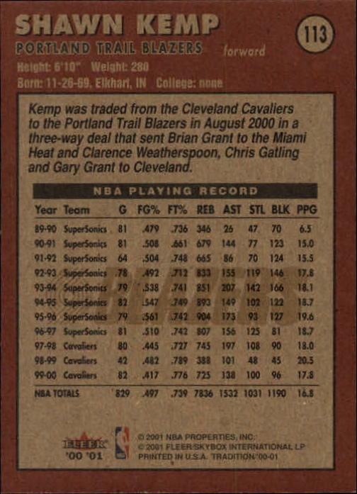 2000-01-Fleer-Basketball-Cards-Pick-From-List thumbnail 179