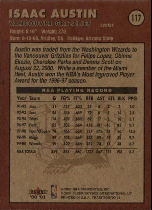 2000-01-Fleer-Basketball-Cards-Pick-From-List thumbnail 185