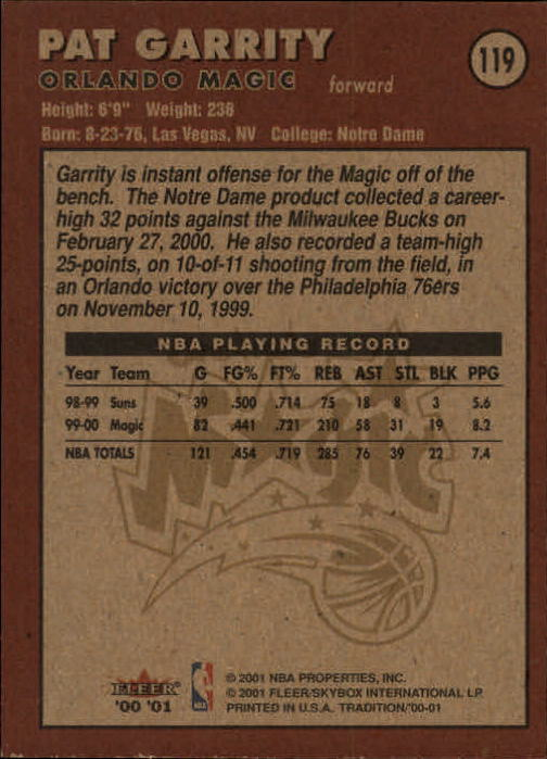 2000-01-Fleer-Basketball-Cards-Pick-From-List thumbnail 187