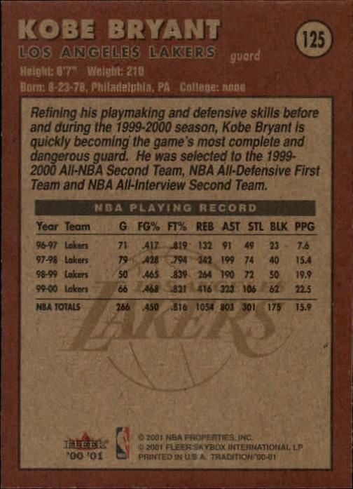 2000-01-Fleer-Basketball-Cards-Pick-From-List thumbnail 199