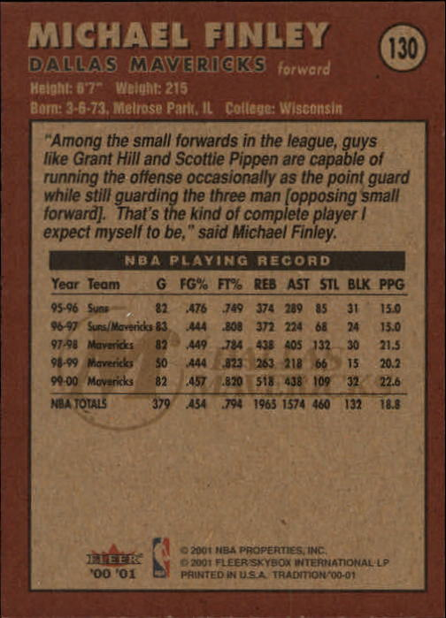 2000-01-Fleer-Basketball-Cards-Pick-From-List thumbnail 209