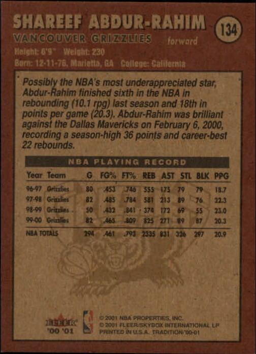 2000-01-Fleer-Basketball-Cards-Pick-From-List thumbnail 217