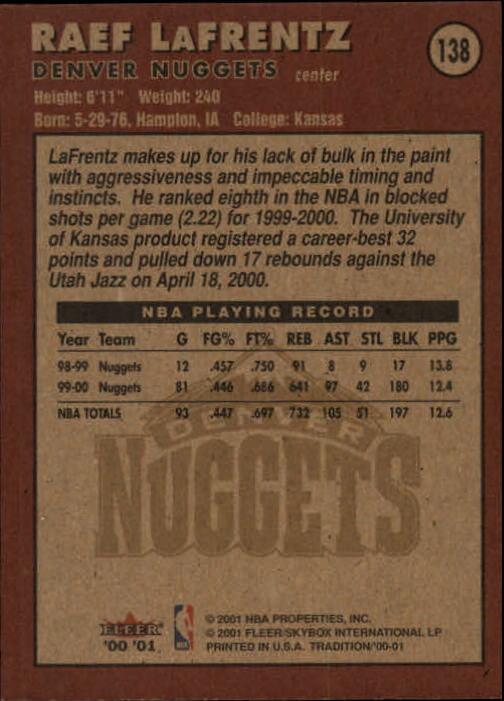 2000-01-Fleer-Basketball-Cards-Pick-From-List thumbnail 225
