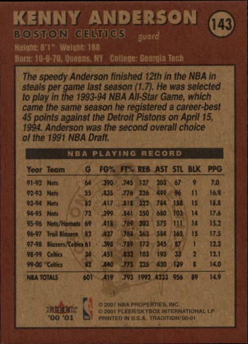 2000-01-Fleer-Basketball-Cards-Pick-From-List thumbnail 233