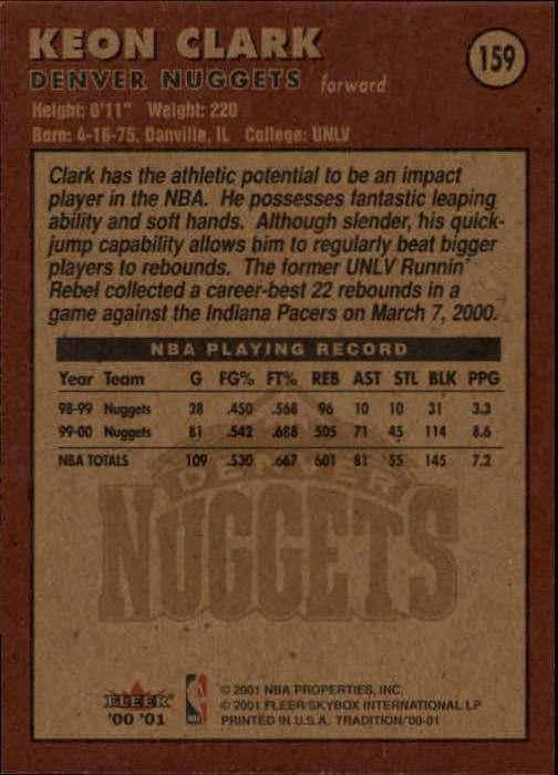 2000-01-Fleer-Basketball-Cards-Pick-From-List thumbnail 261