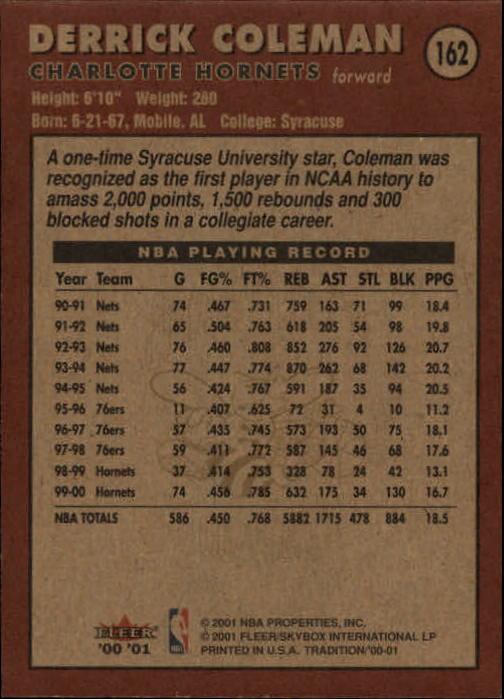2000-01-Fleer-Basketball-Cards-Pick-From-List thumbnail 265