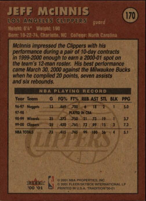 2000-01-Fleer-Basketball-Cards-Pick-From-List thumbnail 271