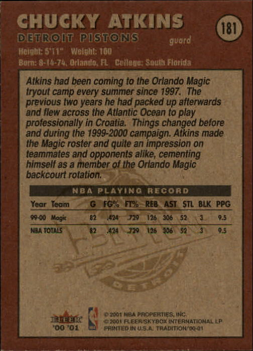 2000-01-Fleer-Basketball-Cards-Pick-From-List thumbnail 285