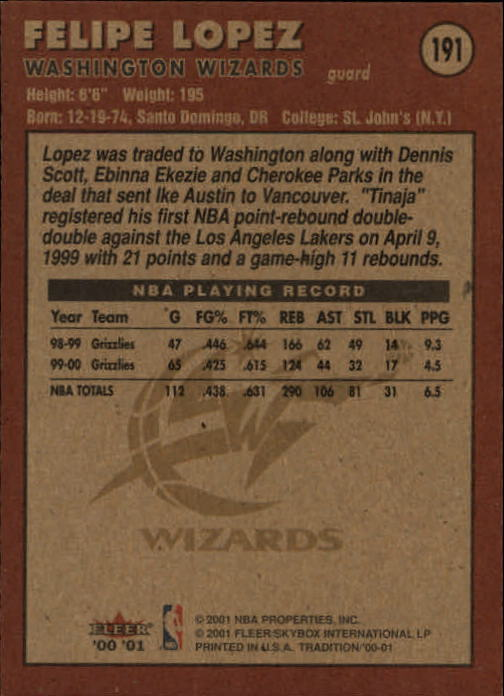 2000-01-Fleer-Basketball-Cards-Pick-From-List thumbnail 301
