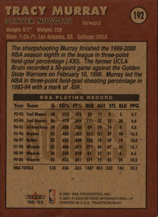 2000-01-Fleer-Basketball-Cards-Pick-From-List thumbnail 303