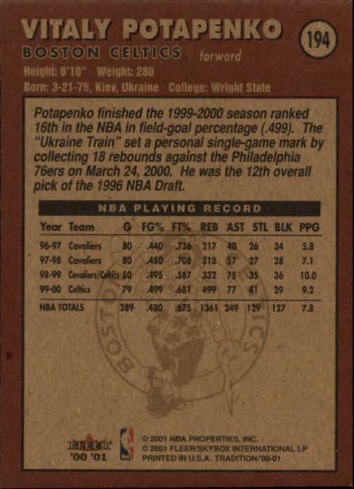 2000-01-Fleer-Basketball-Cards-Pick-From-List thumbnail 305