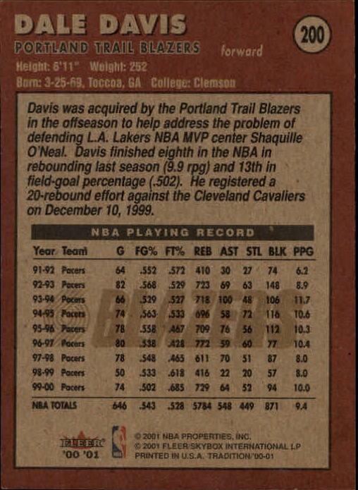 2000-01-Fleer-Basketball-Cards-Pick-From-List thumbnail 309