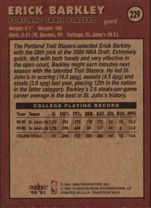 2000-01-Fleer-Basketball-Cards-Pick-From-List thumbnail 355
