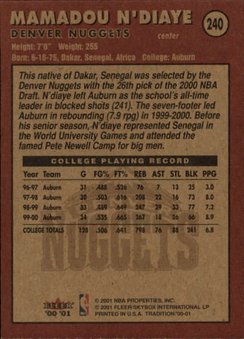 2000-01-Fleer-Basketball-Cards-Pick-From-List thumbnail 375