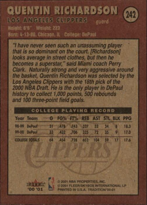 2000-01-Fleer-Basketball-Cards-Pick-From-List thumbnail 379