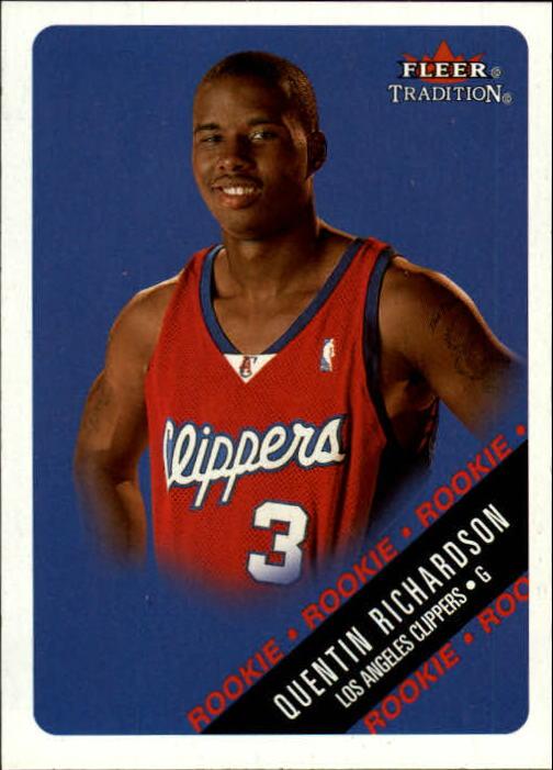 2000-01 Fleer #242 Quentin Richardson RC