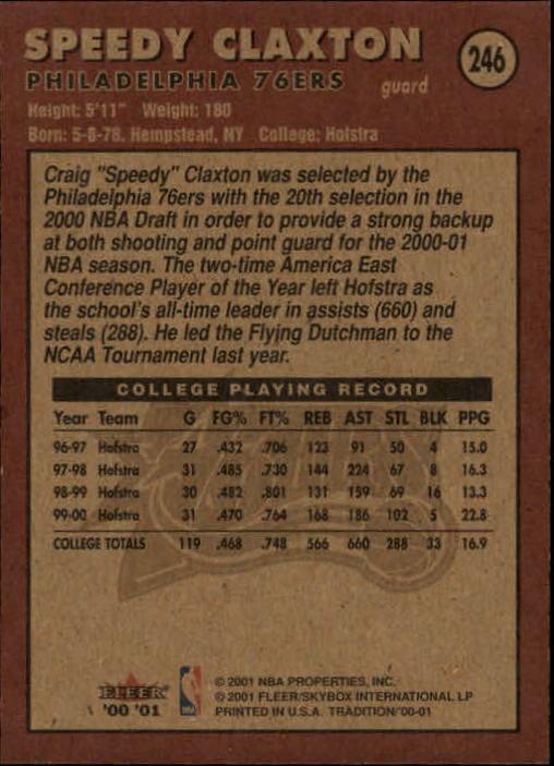 2000-01-Fleer-Basketball-Cards-Pick-From-List thumbnail 385
