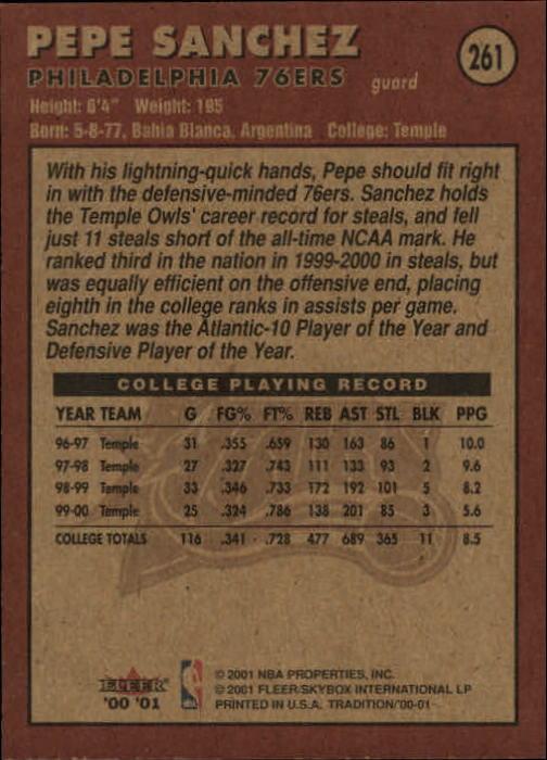 2000-01-Fleer-Basketball-Cards-Pick-From-List thumbnail 409